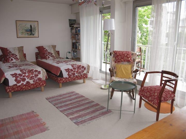 Large studio apt in Rueil-Malmaison