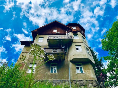56m2 Suite in gorgeous old villa on Semmering