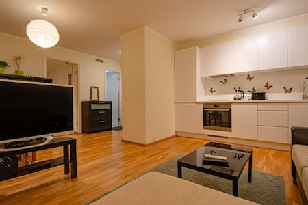 Cosy two room apartment/New house/free parking