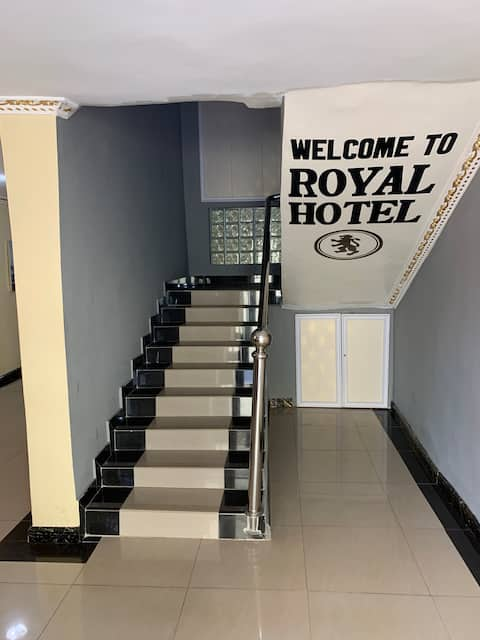 The Royal Hotel is HOME AWAY FROM HOME.