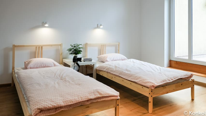 Scandinavian apartment in Gdansk near the sea