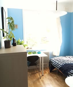 Peaceful bed and breakfast on Stora Essingen - Stockholm - Bed & Breakfast
