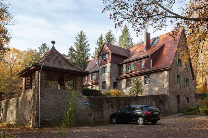 Holiday home Old Falconry in Weimar