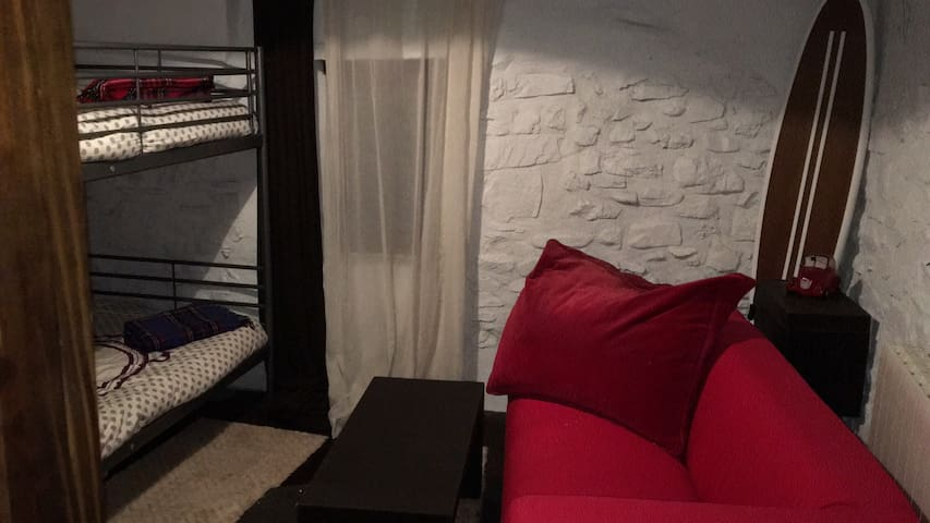 Literas y sofá