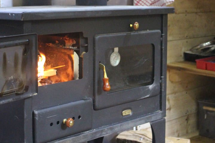 The stove with oven