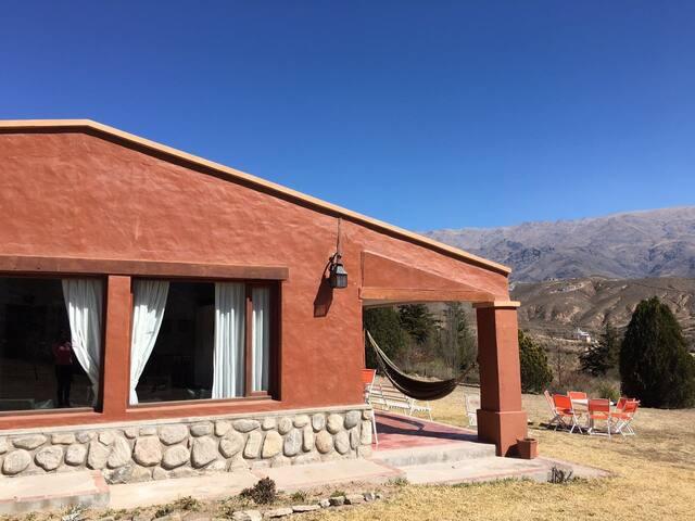 Lindísima Casa en Tafí del Valle