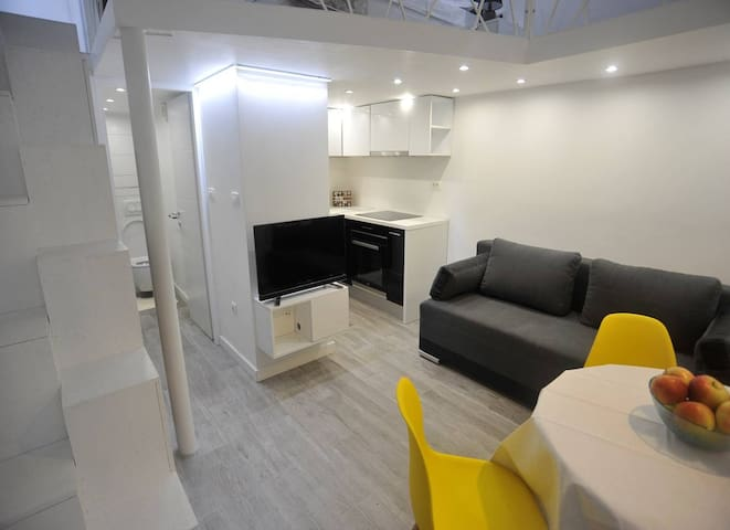 Modern studio apartment Terry