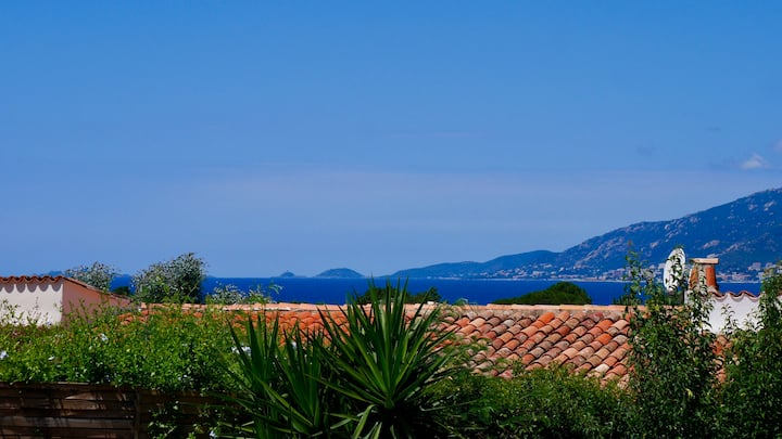 Charmante villa vue mer 300m plage et commerce