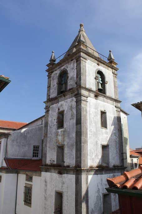 Eglise Matriz vue du salon