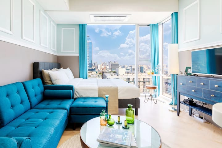 #2 Clean & cozy room right next to Gangnam Station