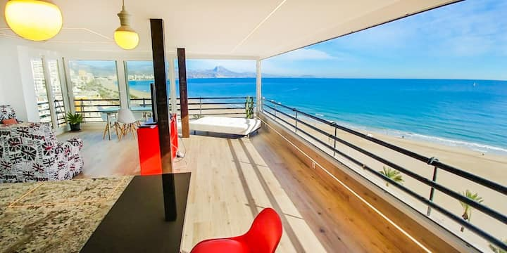 Luxury Brand New Beachfront Apartment
