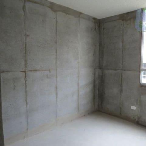 Habitacion obra gris