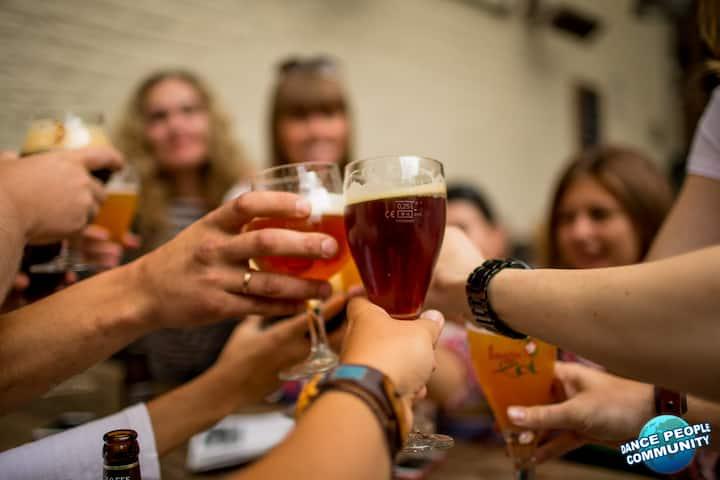 Свежее бельгийское пиво - пароли и явки