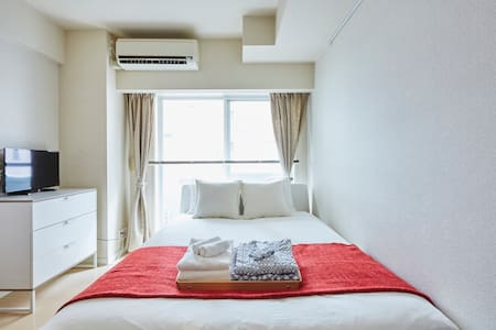◇Free WIFI◇新宿2分钟!高级优雅房间/Samurai T6 - 新宿 - 公寓