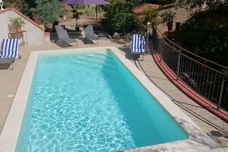 Villa Mathilde, Catalan style, pool and gardens
