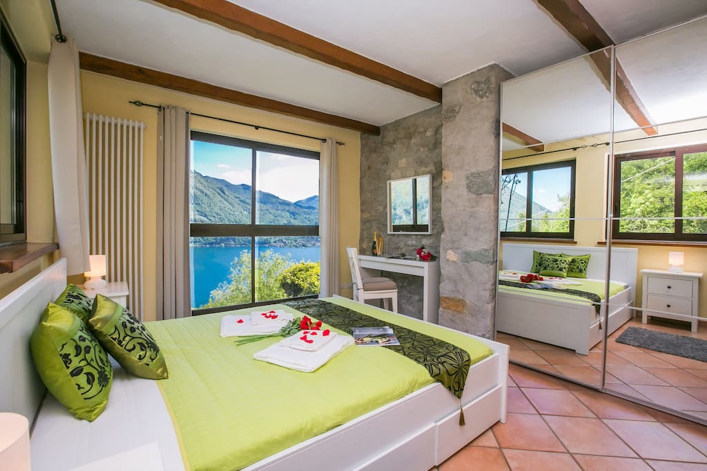 Casa Cima - Master Bedroom, spectacular views