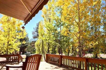 Log Cabin Retreat in Munds Park - Munds Park - Stuga