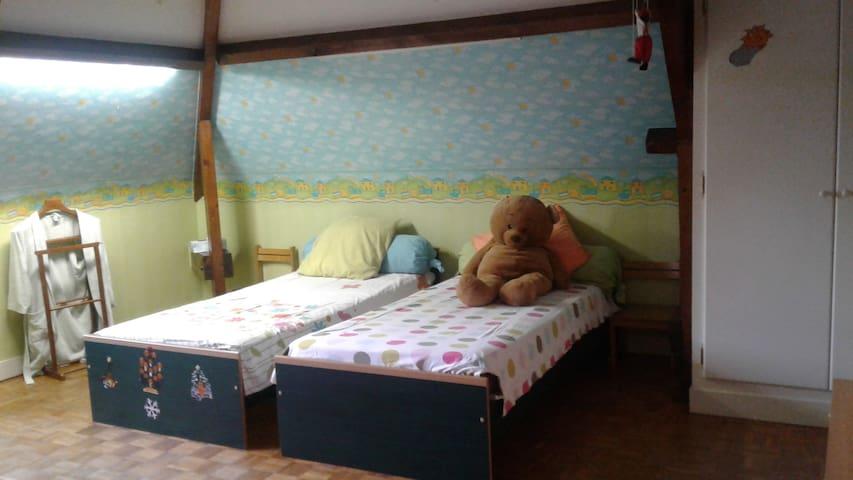 ma chambre dans l'ile