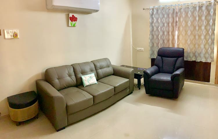 Living room with Massage Chair