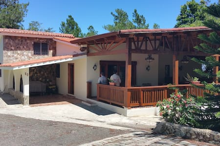 ECO MOUNTAIN VILLA  / 4 Bedrooms / Sleeps 16 - San José de las Matas