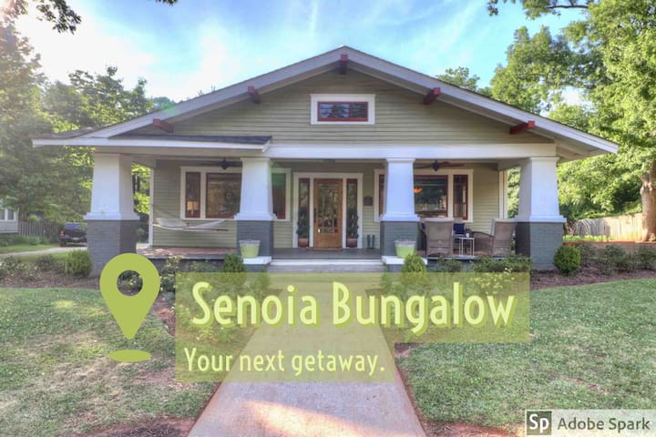 Historic Bungalow Steps from Downtown Senoia & TWD