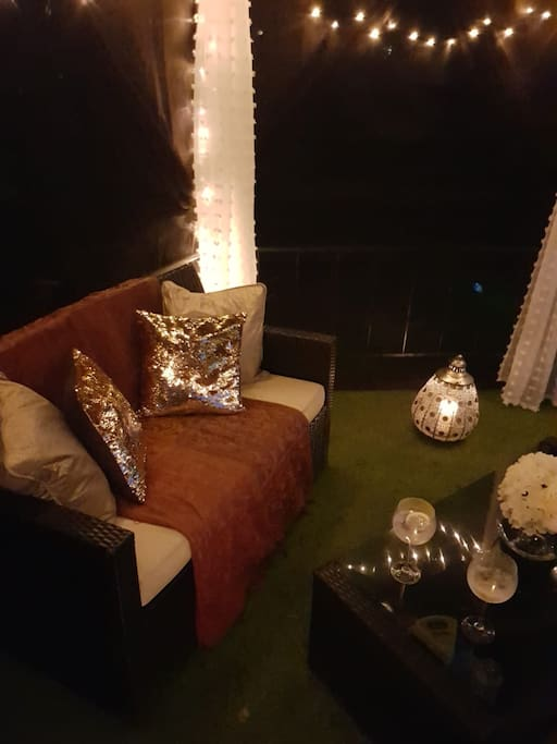 Luxurious private marquee