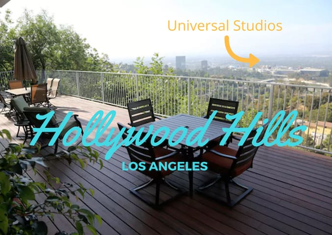 VIEWS!! Chic Getaway Hollywood Hills Guest House - Los Angeles