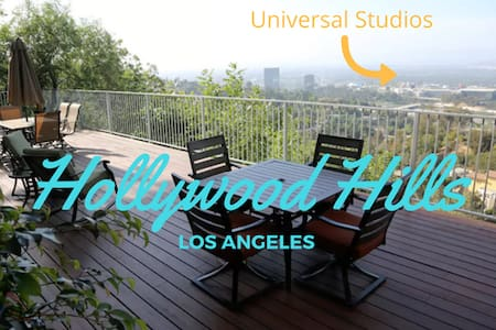 VIEWS!! Chic Getaway Hollywood Hills Guest House - Los Angeles - Guesthouse