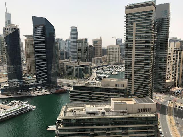 Dubai Marina View One Bedroom - Dubai - Rumah