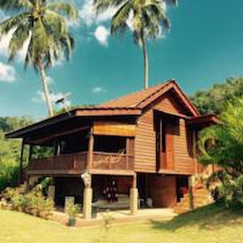 ✪ Sunset Hillside Villa ✪ @ Bambü Getaway