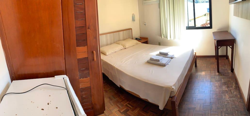 Quarto 106 do residencial Aquamarina