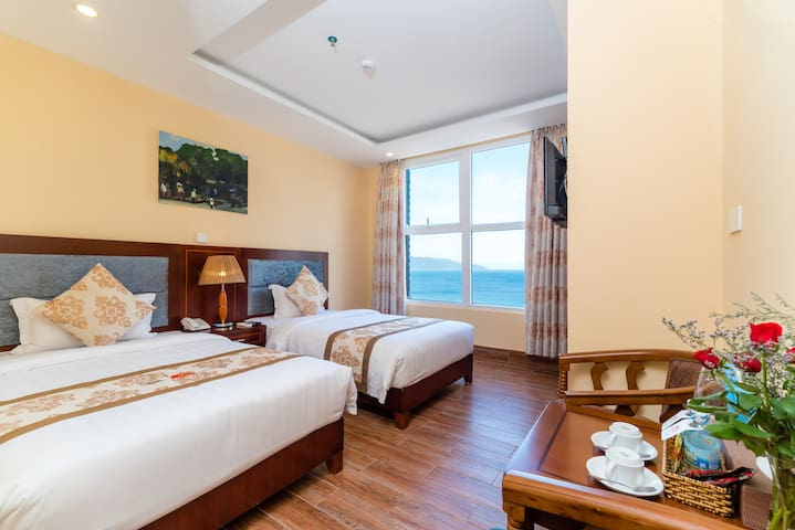 Room with Sea View@Free Breakfast@Nearby the Beach