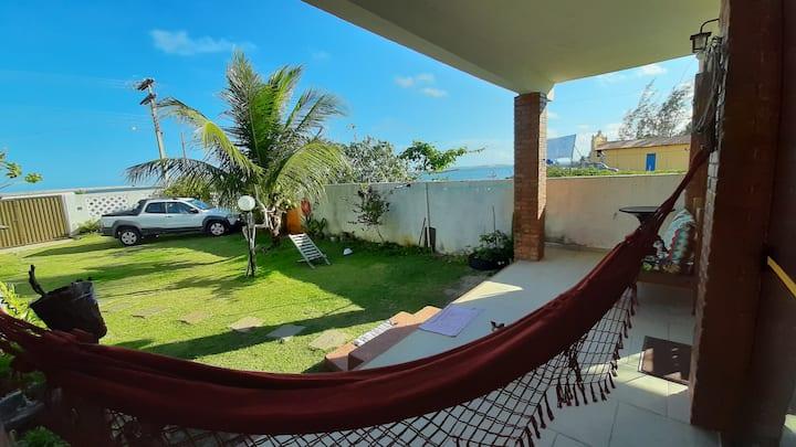 Casa (loft) frente mar na linda Praia do Saco.