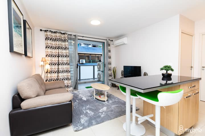 ❀ The SeaFront Apt in Papeete – w/Netflix ❀