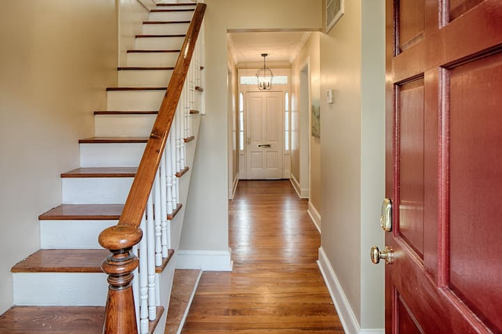 Welcome to your historic downtown home!