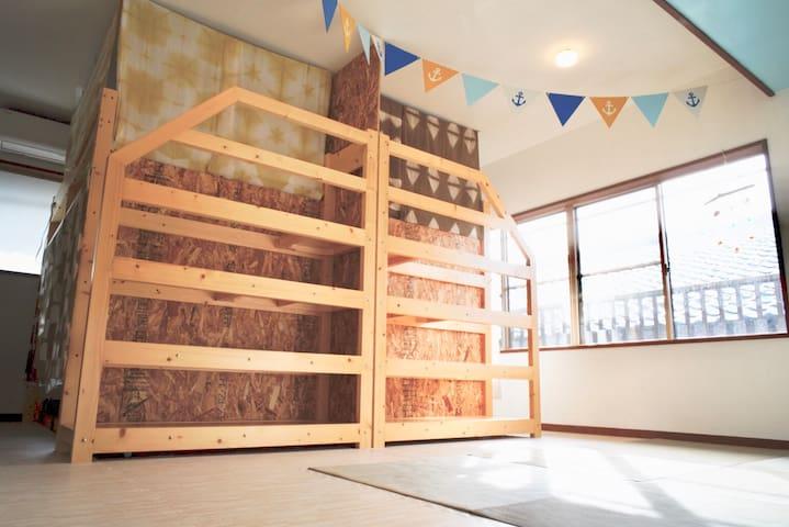 Dormitory Room 2 bunk beds Max 4ppl(洋室)