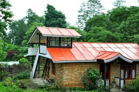 Yangsum Heritage Farm- Mud and Stone Cottage - Rinchenpong