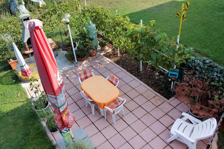 Two bedroom apartment with terrace Umag (A-7109-a)