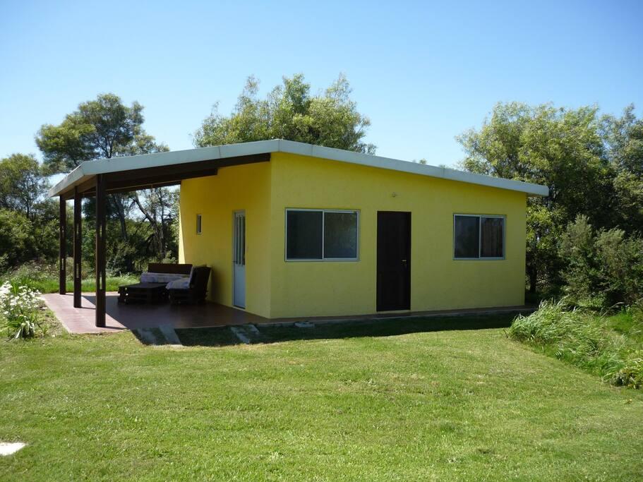 Gästehaus mit eigener Terrasse