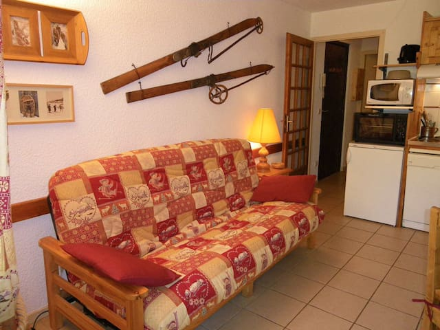 EDENVA1E - 2 rooms 4 people 2* exposed West - VALLOIRE - Huoneisto