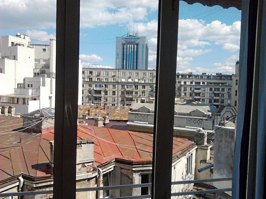 Studio french embassy amzei close old town apartments for Bucharest apartments