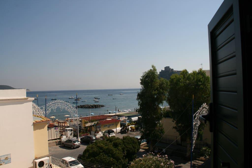 Panorama dalla mansarda