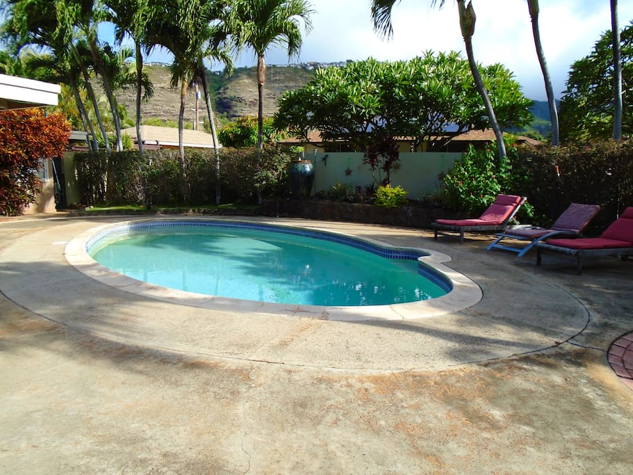 Clean, inviting pool