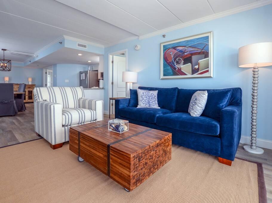 Summer Beach 508 - Living Room