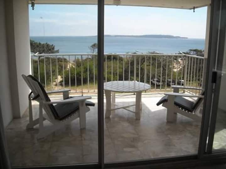 Espectacular vista a la Isla Gorriti