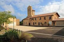 Abbaye de Lahonce classée datant de 1164