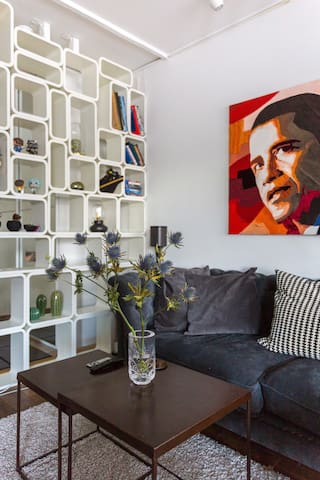 This photo is taken by an official Airbnb professional photographer.