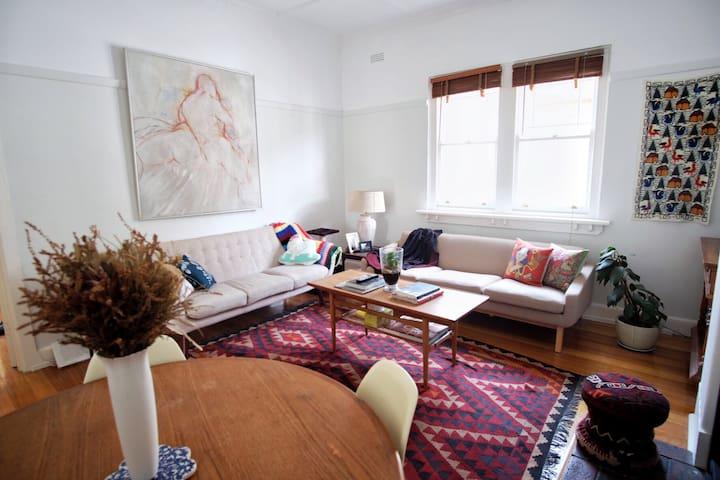 Room in Boho apartment in St Kilda