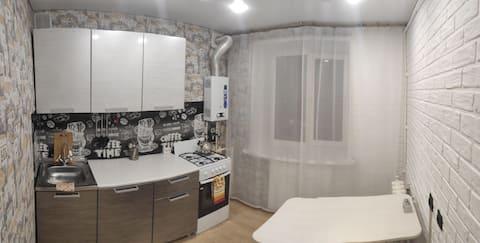 Уютная  квартира,  находится в центре города!