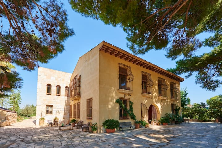 Historical Superb Villa&Private Pool in White Cost - Mutxamel - 別荘